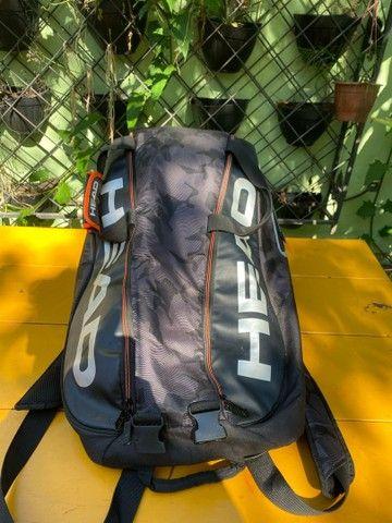Raqueteira HEAD TOUR TEAM 6 raquetes  - Foto 2