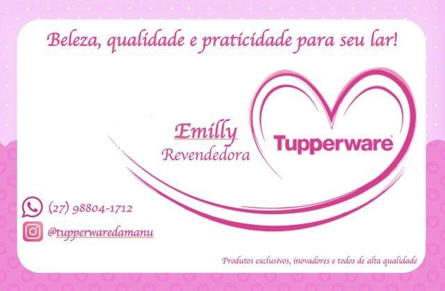 Kit Tupperware Princesas - porta sanduíche quadrado + copo bico 470 ml  - Foto 4