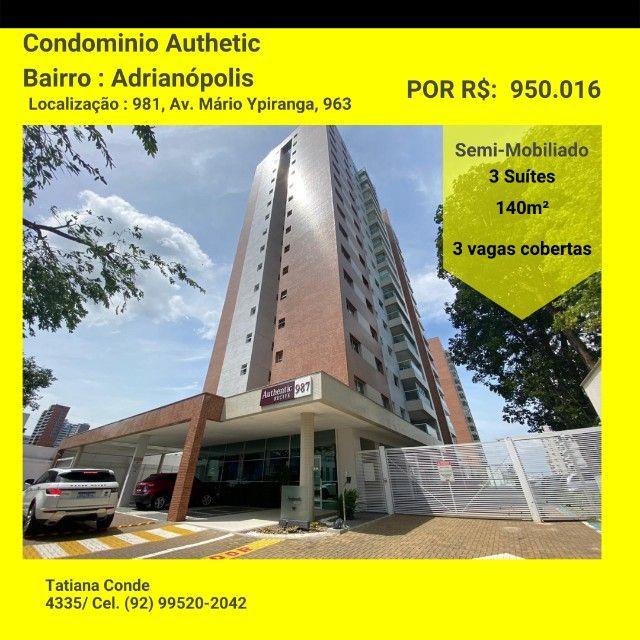 Apartamento Semi Mobiliado - Residencial Autentic