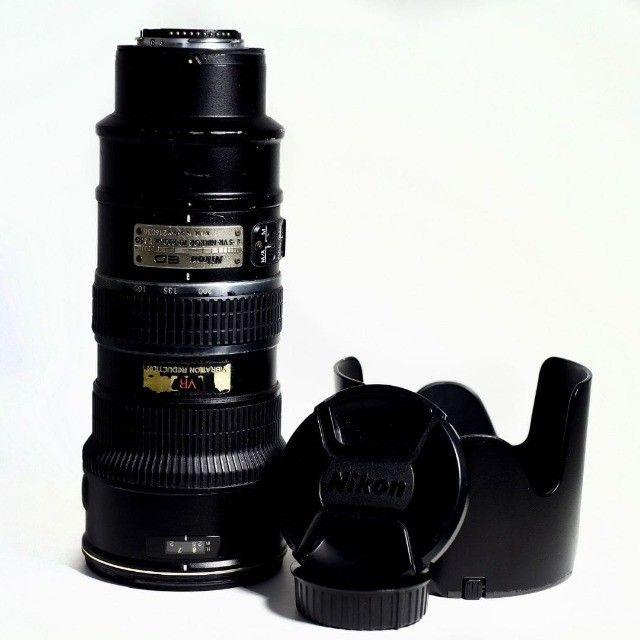 Lente Nikkor 70-200 f2.8 VR1 - Foto 2