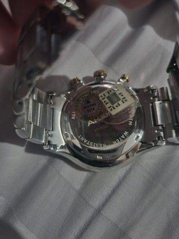 Relógio Akium nunca usado ! Original Vivara de prata e folheado a ouro  - Foto 4