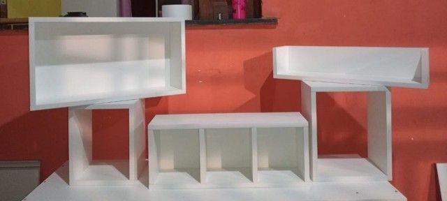 Li dos Kits de Nichos para decorar sua casa, 100% MDF  - Foto 3