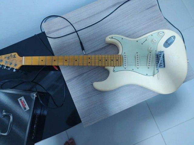 Guitarra Stratocaster Tagima Woodstock Olympic White  - Foto 2