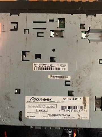 Toca CD, Rádio Automotivo ,Pioneer DEH-X1750UB + USB Bluetooth - Foto 4