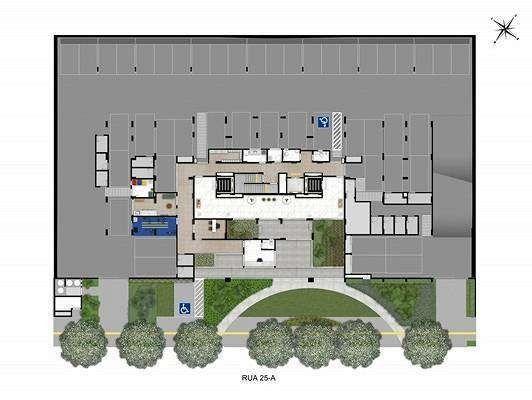 Wish Aeroporto - 58 a 79m² - 2 a 3 quartos Goiânia - GO - Foto 2