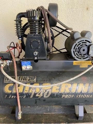 compressor 10 pés - locações para construção civil  - Foto 3