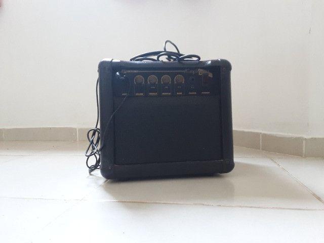 Caixa e som amplifificadora Meteoro bivolt