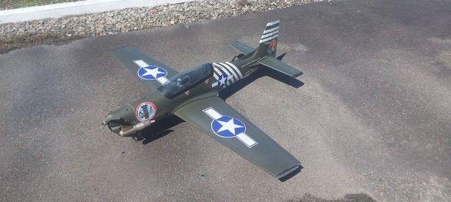 Aeromodelo tucano 1.80 envergwdura