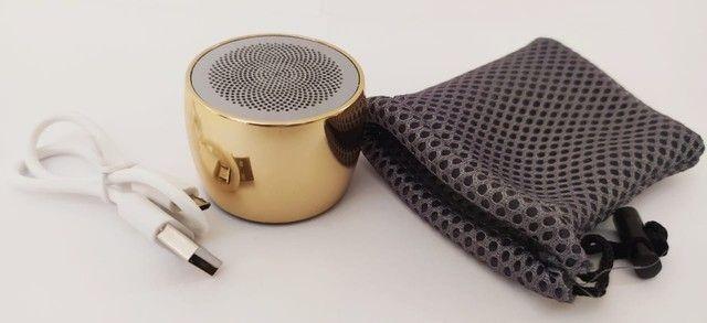 U9 V4.2 Falante Sem Fio Da Liga de Alumínio Mini Speaker Portátil Sem Fio - Foto 3