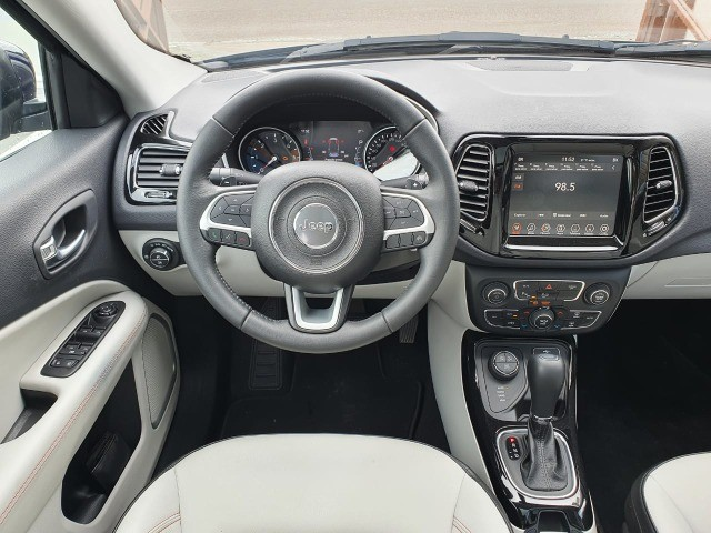 Jeep Compass Limited Diesel 4x4 AT9 (2021) Com Teto e Anenas 9.000 Kms - Foto 7