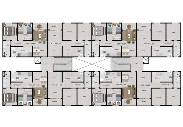 MF- Vila da Mata. Apartamento Excelente. Belíssimo para sua família ! - Foto 2