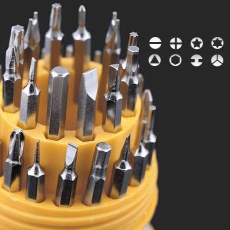Jogo De Chaves 31 In 1 Precisão Fenda Torx Alen Philips Y. - leia o anúncio - Foto 3