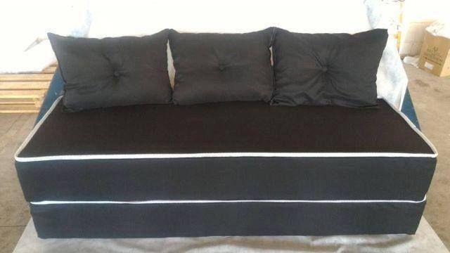 Liquidação de sofá cama 3 em 1 barato e aqui frete gratis