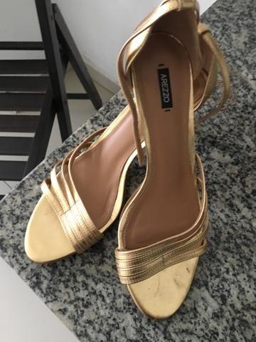 fc1f302b2 Sandália Social dourada - Roupas e calçados - Campina, Belém ...