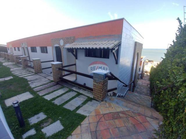 Flat estilo casa duplex com 2 dormitórios à venda, 57 m² por r$ 185.000 - ponta negra - na - Foto 20