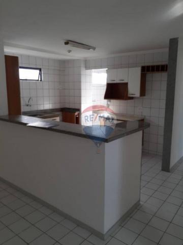 Apartamento com 3 dormitórios à venda, 99 m² por r$ 350.000,00 - ponta negra - natal/rn - Foto 4