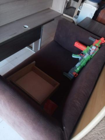 Vendo mesa e cadeira de escritório - Foto 3