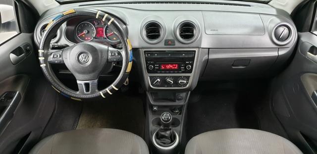 Vw-Volkswagen Novo Voyage GNV 1.6 Flex 2014/14 - Foto 11