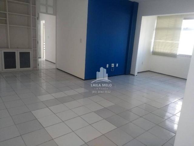 Apartamento com 3 dormitórios à venda, 120 m² por r$ 420.000 - meireles - fortaleza/ce - Foto 4