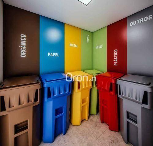 Apartamento com 2 dormitórios à venda, 71 m² por R$ 396.000,00 - Setor Marista - Goiânia/G - Foto 13