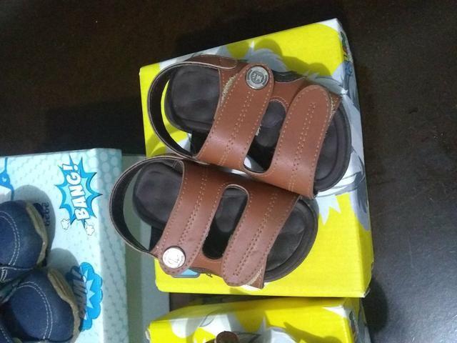 Vendo lote de sapato de menino e tapete de Eva - Foto 2