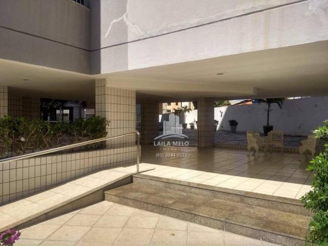 Apartamento com 3 dormitórios à venda, 120 m² por r$ 420.000 - meireles - fortaleza/ce - Foto 2