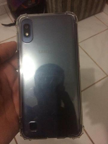 Vendo celular a10 novo com capinha e película - Foto 3