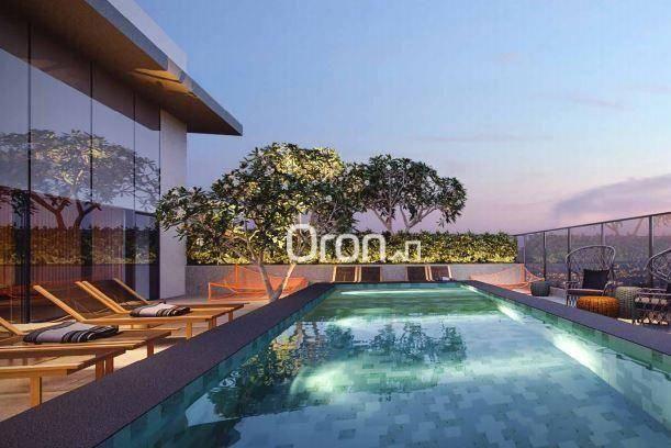 Apartamento com 2 dormitórios à venda, 71 m² por R$ 396.000,00 - Setor Marista - Goiânia/G - Foto 5