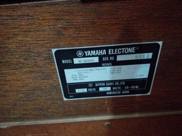 Órgão Yamaha B20 - Foto 5