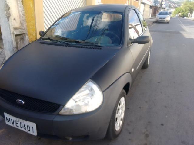 Ford ka zetec rocam básico vendo ou troco - Foto 14