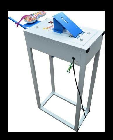 Vendo ou troco maquina automática fazer chinelos compacta print - Foto 3