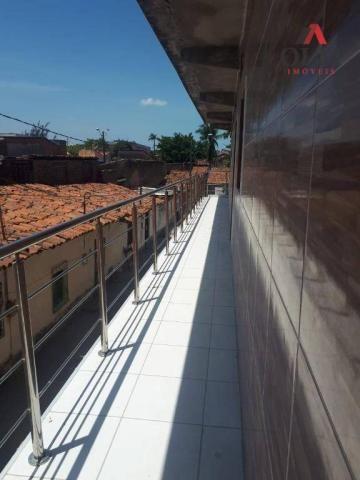 Apartamento com 1 dormitório para alugar, 28 m² por R$ 500/mês - Benfica - Fortaleza/CE - Foto 11
