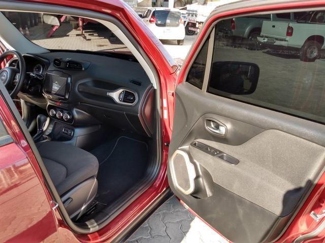Jeep Renegade Sport 1.8 Flex Automático 2018 estado de zero km ! - Foto 9