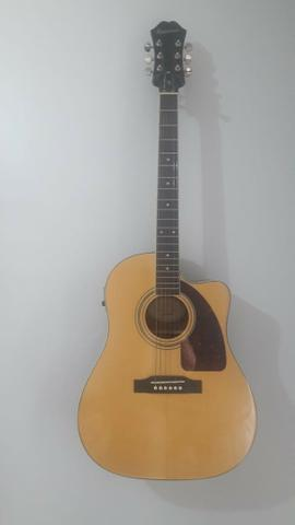 Violão Epiphone AJ-220 SCE Natural ? Instrumento usado