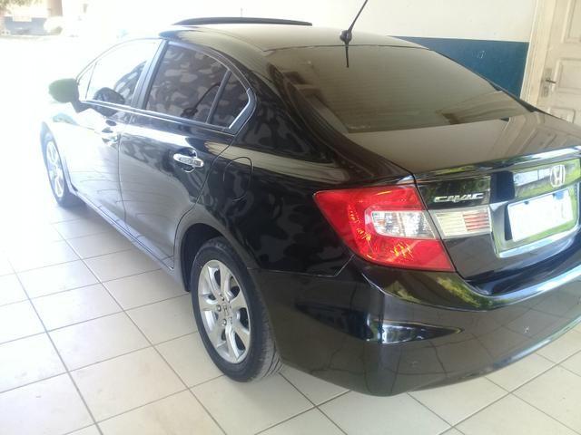 Honda civic sedan EXS 1.8 o top da categoria - Foto 2