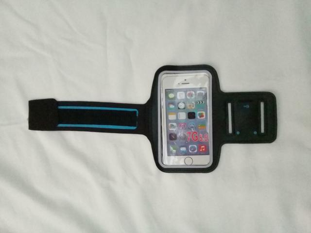 Porta celular braço corrida academia