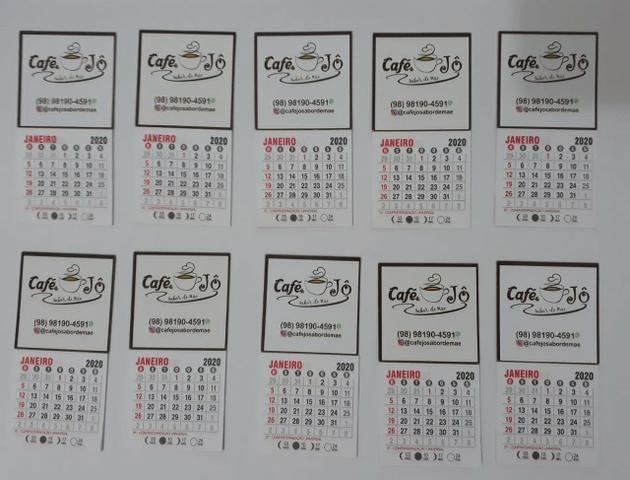 Mini calendários de imã - Foto 2