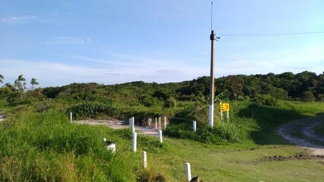 Terreno Frente pro mar em Itapoá para construir,menor preço na beira mar de toda Itapoá - Foto 8