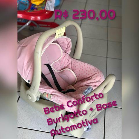 Bebe Conforto B U R I G O T O com Base Automotiva