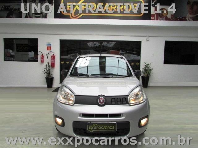 Fiat Uno Attractive 1.0 Flex - Ano 2016 - Bem Conservado - Foto 8
