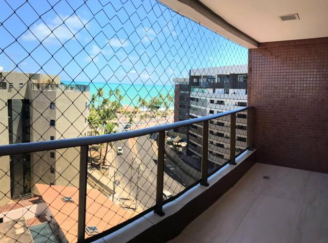 3 quartos com varanda, Vista MAR, nascente na Jatiuca! - Foto 2