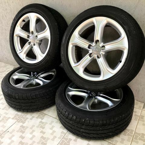 Rodas Originais Audi A5 Aro 17 5x112 + Pneus Bridgestone Novos
