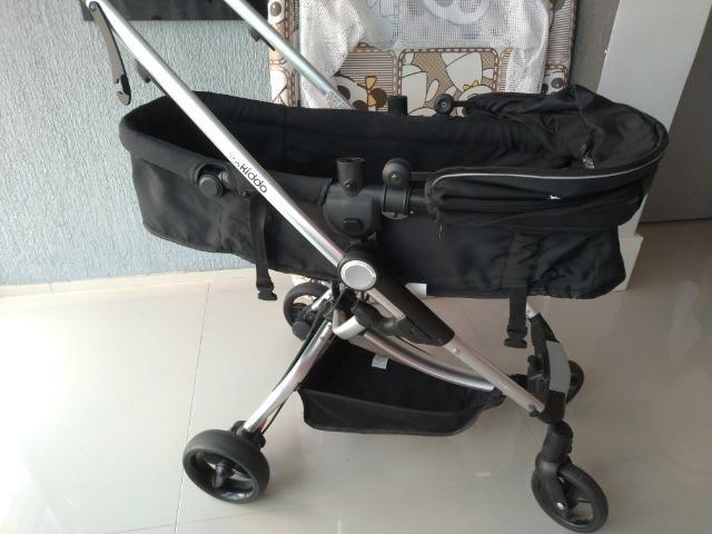 Carrinho De Bebê Kiddo Eclipse + Bebê Conforto E Base - Foto 3