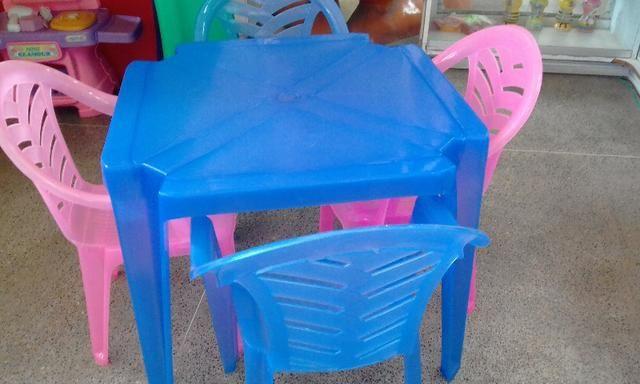 Vende se mesas infantil - Foto 3