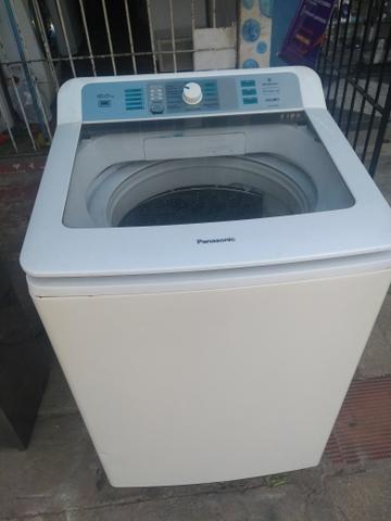 Máquina de Lavar. 14 Kilos. Completa. Panasonic. Faz Tudo. Super Conservada. Só 580,00 - Foto 3
