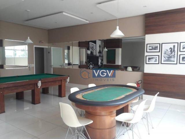 Apartamento com 1 dormitório à venda, 52 m² por R$ 525.000,00 - Vila Regente Feijó - São P - Foto 2