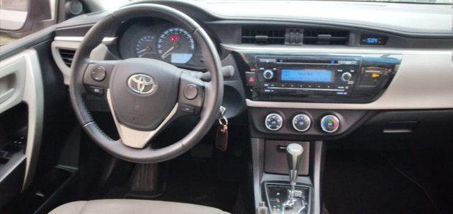 Corolla GLI 1.8 Flex/GNV. C/Entrada+48x1204 Fixas - Foto 9