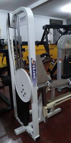 Maquinas de musculação usadas e um climatizador Clima Brisa - Foto 5