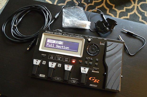 Sintetizador Roland GR-55 (pra vender logo)