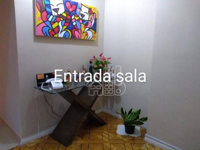 Apartamento com 3 dormitórios à venda, 100 m² por R$ 890.000,00 - Icaraí - Niterói/RJ - Foto 5